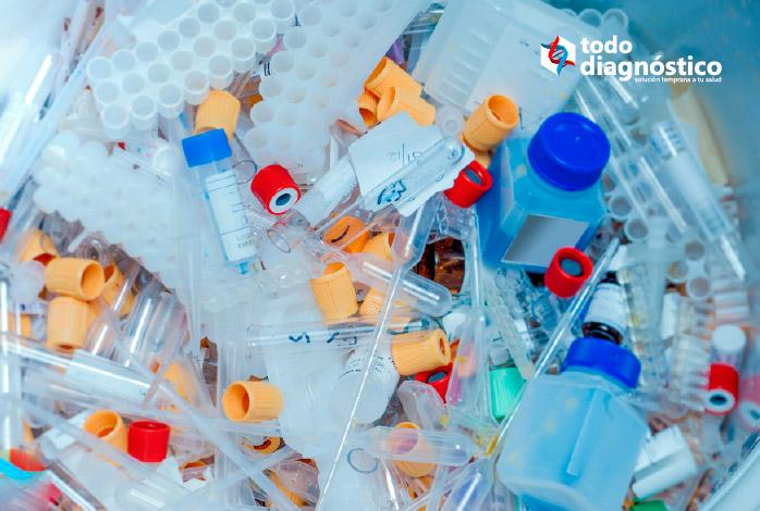 seguridad biológica en el laboratorio: residuos peligrosos de los laboratorios de patología
