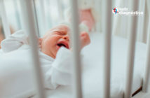 Uso innecesario de antibióticos en niños: bebé enfermo llorando