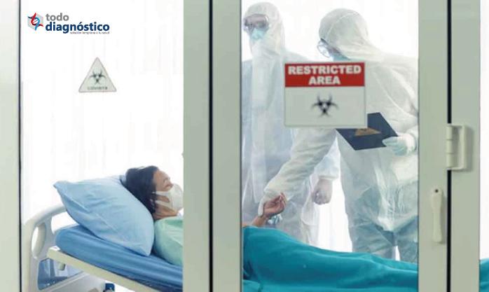 Tasa de letalidad por Covid-19: mujer en unidad de terapia intensiva
