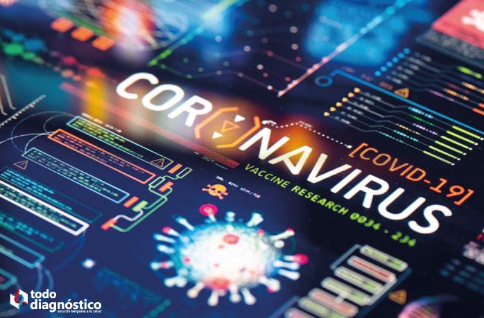 Nuevo coronavirus SARS-CoV-2, que causa la enfermedad Covid-19